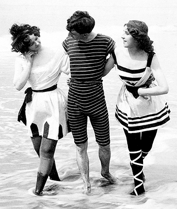 old fashioned bathing suit